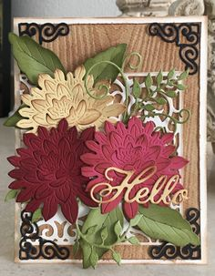 For the love of life: Cheery Lynn Designs: Hello card