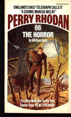 "Space Force Major PERRY RHODAN 66 The Horror Science Fiction Space Opera Ace Books ATLAN M13 cluster Lensman E E ""Doc"" Smith"