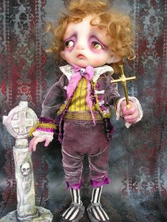 Gail Lackey Ghosties Fairys and Magical Things: Niada Dolls