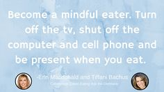 CE Tip 23: Eat mindfully #EatCleanIn2016