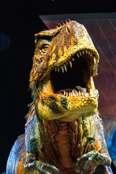 Walking With Dinosaurs (Arena Spectacular) An amazing experience for kids of all ages!