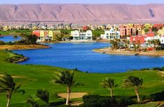 El Gouna, Egypt. Golf, sea, time for yourself