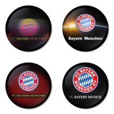 "BAYERN MUNICH Football Club 1.75"" Badges Pinbacks, Mirror, Magnet, Bottle Opener Keychain http://www.amazon.com/gp/product/B00K3U2G0E"