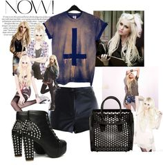 """Taylor Momsen"" by blogging-inbalenciaga on Polyvore"