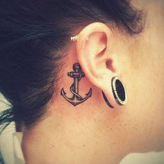 Die 13 Besten Bilder Von Tattoo Hinterm Ohr Cute Tattoos Lotus