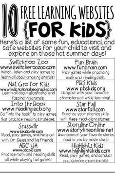 10 Learning Websites