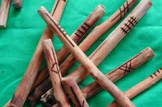 Named for Ogma or Ogmos, the Celtic god of eloquence and literacy, the Ogham alphabet is a tool of divination for many Pagans. Ogham Alphabet, Calligraphy Alphabet, Chinese Calligraphy, Islamic Calligraphy, Make Your Own, Make It Yourself, How To Make, Tarot, Irish Images