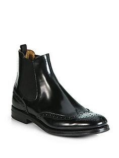 Church's Ketsby Leather Chelsea Boots .... LOVE mens styled shoes and boots. really slam it with a great pair of jeans.