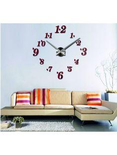 Trends Klebstoff Uhr an der Wand - CORINNE Artikel-Nr.:  12S004-RAL3002-S-COLOR** Zustand:  Neuer Artikel  Verfügbarkeit:  Auf Lager  Wählen Sie eine Farbe selbst! Die Zeit ist gekommen, viel mehr gemütlich realít neue Uhr. 3D große Wanduhr ist eine schöne Dekoration von Ihrem Interieur. Du wirst es nie zu spät.
