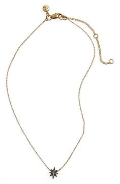 Madewell Pavé Starburst Necklace available at #Nordstrom