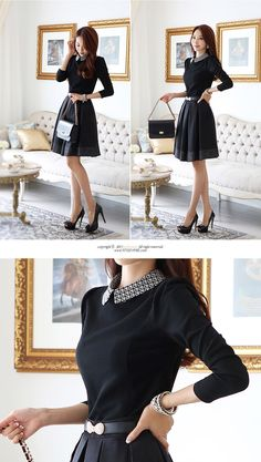 Black Womens Korean Fashion