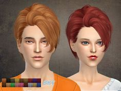 The Sims Resource: Skysims hair 121 • Sims 4 Downloads