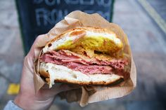 Salt Beef Beigel. by theseyoungarchies, via Flickr