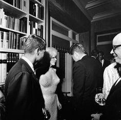 Robert Kennedy, Marilyn Monroe, and JFK