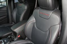 Trailhawk leather seats in the all-new 2014 Jeep Cherokee