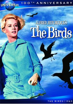 The Birds - Tippi Hedren, Rod Taylor, Jessica Tandy, Suzanne Pleshette, Veronica Cartwright - Alfred Hitchcock Scary Movies, Old Movies, Vintage Movies, Horror Movies, Vintage Stuff, Alfred Hitchcock, Movies Showing, Movies And Tv Shows, Love Movie