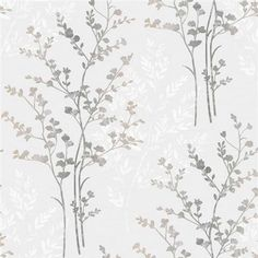 Buy the Silver Fern Motif Wallpaper by Arthouse at The Range