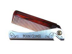 Man Comb. L'outil ultime pour vos cheveux, votre barbe et votre bière.: Amazon.fr: Beauté et Parfum