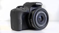 Canon debuts worlds smallest DSLR. Canon has hit back by producing the world's smallest and lightest APS-C sized DSLR.