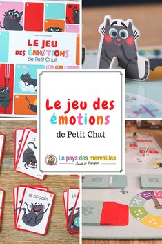 The play of feelings of Petit Chat, a humorous triptych Emotions Activities, Educational Activities For Kids, Toddler Activities, Montessori Toddler Rooms, Dealing With Anger, Child Teaching, Craft Online, Tot School, Triptych