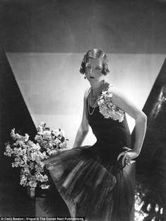 Cecil Beaton's portrait of Lady Idina for the magazine. She couldn't be left…