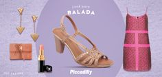 #look #fashion #moda #trend #balada #festa #party #sapatos #shoes #tendencia #piccadilly #mylook