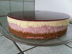bavarois à la fraise et chocolat blanc 1