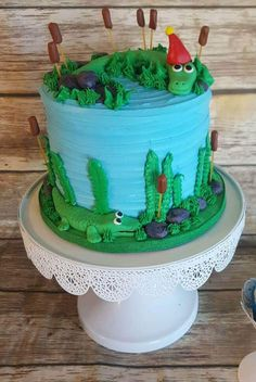 45 Most Beautiful looking Alligator Cake Design that you can make or get it made on the coming birthday. Alligator Birthday Parties, 4th Birthday Cakes, 8th Birthday, Birthday Ideas, Cake Designs Images, Cool Cake Designs, Aligator Cake, Peter Pan Cakes, Aladdin Cake