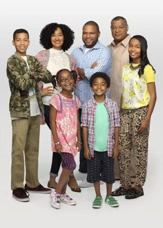 BLACK-ISH (Premieres 9/24/14 - ABC) Created by and starring comedian Anthony Anderson, Black-ish explores one man's efforts to establish a cultural identity for his family after he discovers his children don't have one. Anderson stars as man-of-the-house Dre, and Tracee Ellis Ross plays his biracial wife Rainbow. Laurence Fishburne appears as Dre's father, Pops, and wears velour tracksuits because he's Laurence freaking Fishburne.