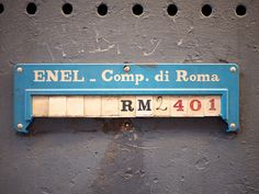 typography in rome