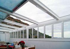 Techos plegables, techos retractrables, cerramientos plegable, LaVeranda10 Ático en España