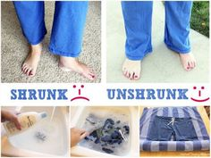How To Unshrink Clothes After Washing Easy Video Tutorial
