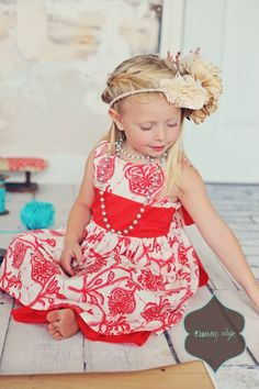 Girls Easter Dress - Ainsley Dress - Amy Butler - Size 3T - Ready to Ship. $84.00, via Etsy.