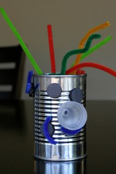 Recycled Robots ~ Creative Family Fun