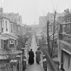 A Back Street Of Saint Germain By Charonne Parish