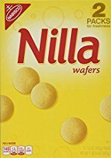 Nabisco Nilla Wafers - These deliciously soft, Vanilla flavour wafer-style cookies from Nabisco are some of the finest out there. They're ideal for baking and or using in your pudding recipes, or as a light and tasty snack straight out of the Vanilla Wafer Banana Pudding, Banana Pudding From Scratch, Old Fashioned Banana Pudding, Southern Banana Pudding, Banana Pudding Recipes, Vanilla Cookies, Nabisco Cookies, Pudding Desserts, Dessert Recipes
