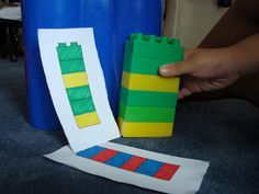 Pattern recognition using legos