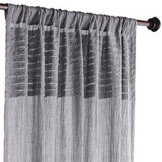 Batiste Curtain - Gray 84""
