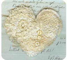 .heart pillow