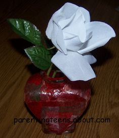 Heart Vase craft for party
