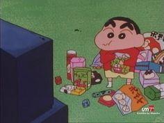 What a busy kid he is :o ! Laugh Cartoon, Sinchan Cartoon, Cartoon Characters, Crayon Shin Chan, Anime Manga, Anime Art, Sinchan Wallpaper, Funny Anime Pics, Anime Dolls
