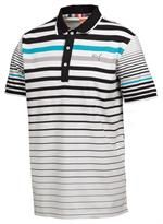 Puma Golf Men's Varigated Stripe Polo SIZE L List Price: $50.00  Your Price: $29.95