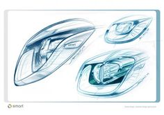 Daily Sketch: Smart Forjoy Concept - from the gallery: Headlights