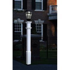 New England Arbors Sturbridge 72 Lantern Post