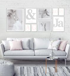 Maak je je eigen collage met trouwfoto's en gepersonaliseerde posters! Printcandy heeft een aantal ideeën op een rijtje gezet om je te inspireren.