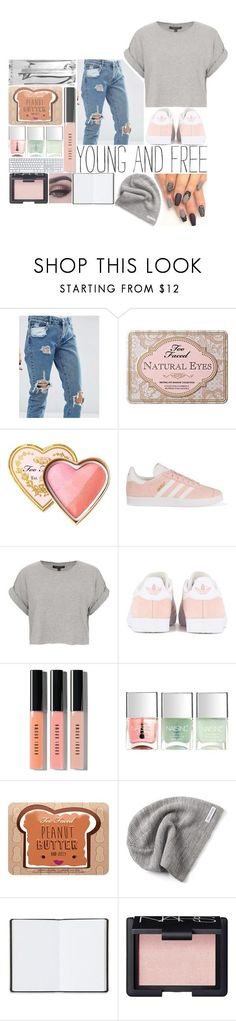 """""""★ giving back is all I want to do ★"""" by aliiiiison ❤ liked on Polyvore featuring ASOS, Too Faced Cosmetics, adidas Originals, Topshop, Bobbi Brown Cosmetics, Nails Inc., Converse, Harrods and NARS Cosmetics"""