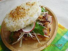 yakiniku rice burger Japanese food