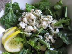 Dilly Crab Salad
