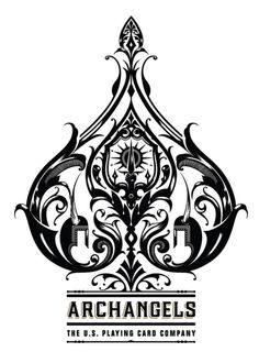 The Ace of Spades - Bicycle® Archangels Playing Cards / Elementos bastante… Spade Symbol, Spade Tattoo, Archangel Tattoo, Kawaii 365, Jace Lightwood, Fantasy Anime, Shadowhunters, Bicycle Playing Cards, Ace Of Spades