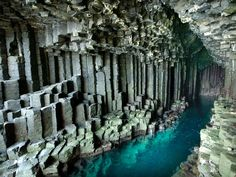 FINGAL'S CAVE, SCOTLAND - From the vibrant red rocks of Antelope Valley to the underground grottos of Southeast Asia.